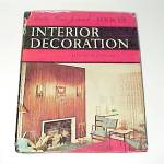 Click here to enlarge image and see more about item 78437: Ladies Home Journal Book of Interior Decoration 1957 Decor Decorating