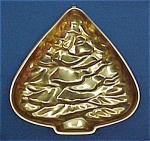 Click here to enlarge image and see more about item 79058: Christmas Tree Copper Aluminum Jello Cake Mold Hanging