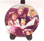 Click here to enlarge image and see more about item 79099: Avon Special Moments 1998 Mother's Day Plate 22K Gold