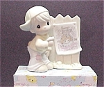 Click here to enlarge image and see more about item 79616: Precious Moments SAMMY's CIRCUS Enesco SAMMY Figurine
