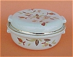 Click here to enlarge image and see more about item 81735: Autumn Leaf China Mini Miniature Casserole Jewel Tea