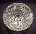 Click to view larger image of Imperial Waffle Rose Bowl Vase Elegant Depression Glass (Image6)