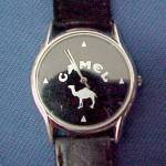 Click here to enlarge image and see more about item 82307: Camel Cigarette Wrist Watch 1990s Vintage Advertising