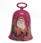 Click here to enlarge image and see more about item 82986: Hallmark 2004 St. Nicholas Bell Christmas Santa Claus