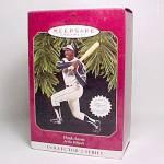 Click to view larger image of 1997 Hank Aaron Baseball Hallmark Christmas Ornament (Image1)