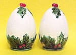 Click here to enlarge image and see more about item 83511: Lefton Holly Berry Salt Pepper Shakers S&Ps Christmas