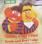 Click to view larger image of 1971 1977 Wilton Cake Pan Bert Ernie Sesame Street Mold (Image3)