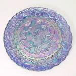 Click here to enlarge image and see more about item 83951: Imperial Carnival Glass Twelve Days of Christmas Plate