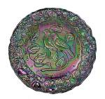Click here to enlarge image and see more about item 83952: Carnival Imperial Glass Twelve Days of Christmas Plate