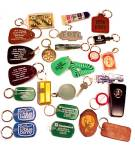 24 Advertising Keychain Chain Key Case Promo Souvenir Figural IA WI