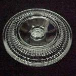 Click here to enlarge image and see more about item 85204: Vintage Clear Glass Refrigerator Dish Replacement Lid