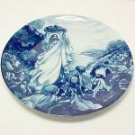 Click here to enlarge image and see more about item 85436: 1993 Avon Jesus Feeds the Multitude Collectors Plate