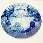 Click here to enlarge image and see more about item 85437: 1994 Avon Jesus The Last Supper Collectors Plate