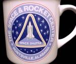 Click to view larger image of Space Rocket Center Huntsville AL Shuttle Coffee Mug (Image2)