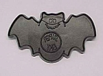 Click here to enlarge image and see more about item 86248: 1985 Hallmark Super Bat Cookie Cutter Halloween Vintage