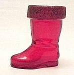 Santa Claus Boot Toy Christmas Candy Container MICA