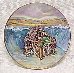Click here to enlarge image and see more about item 86736: 1980 Religious China Collector Plate Christian Vintage