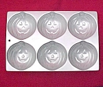 Click here to enlarge image and see more about item 90025: 1983 Wilton Cake Pan Halloween Pumpkin Jack-o-Lantern