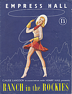 Playbill - Empress Hall