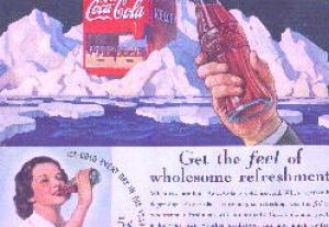 1936 COCA COLA MAGAZINE AD SHEET - NEAT (Image1)