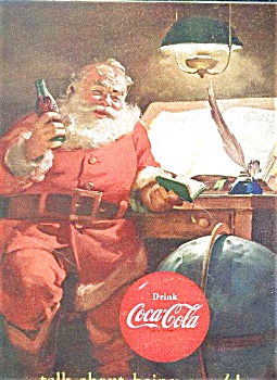 1951 COCA COLA / SHEAFFER'S AD SHEET (Image1)