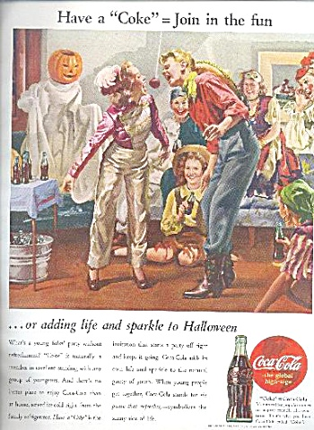1944 COCA COLA AD SHEET (Image1)