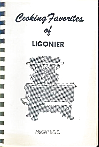COOKING FAVORITES OF LIGONIER COOKBOOK (Image1)
