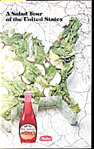 A SALAD TOUR -  HEINZ  COOKBOOK (Image1)