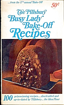 PILLSBURY BUSY LADY BAKE-OFF RECIPES (Image1)