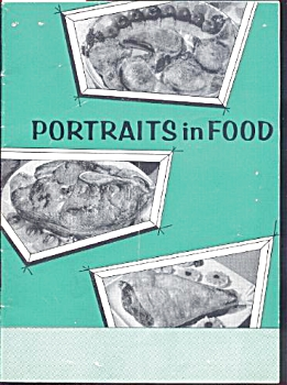PORTRAITS IN FOOD - COOKBOOK (Image1)