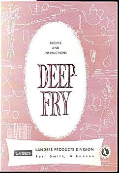 DEEP-FRY  COOKBOOK - LANDERS PROD. DIV. (Image1)