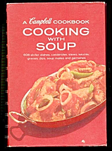CAMPBELL COOKBOOK COOKING WITH SOUP 1969 (Image1)
