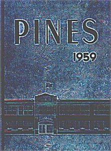 PINES 1959 BUCHANAN HIGH SCHOOL ANNUAL (Image1)