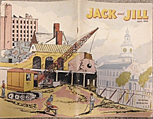July 1952 Jack And Jill Magazine - Child's