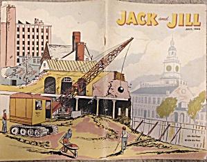 JULY 1952 JACK AND JILL MAGAZINE - CHILD'S (Image1)