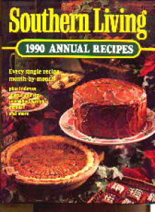 Southern Living Cookbook 1990