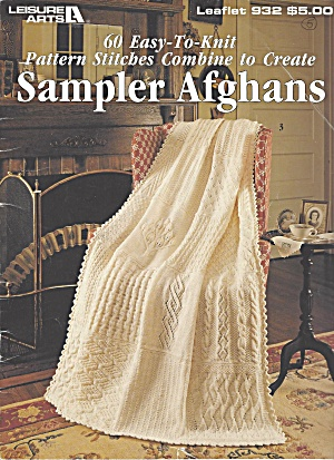 Knitting Book With 60 Afghan Patterns From 1990
