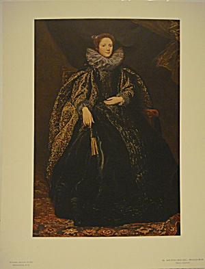 Van Dyck Marchesa Balbi (Mellon Collection)