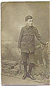 Real photo postcard of a young boy (Image1)