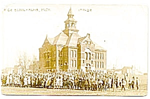 Real photo postcard of Alma, Michigan (Image1)