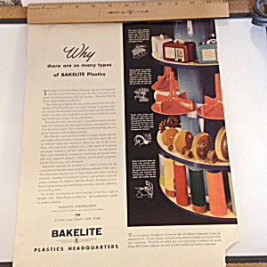 Colorful BAKELITE Color Ad (Image1)