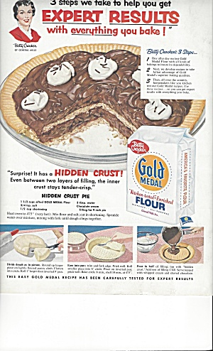 Betty Crocker Gold Medal Flour Briggs Bath Ads
