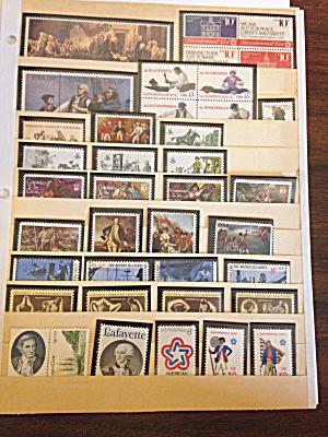 44 Bicentennial 1976 era 8 cent, 10 cent and 13 cent st (Image1)