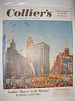 Collier's Magazine August 1 1951 Detroit's 250th Anniv (Image1)
