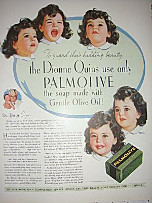 Dionne Quints Polmolive / Coke original ad 1936 (Image1)