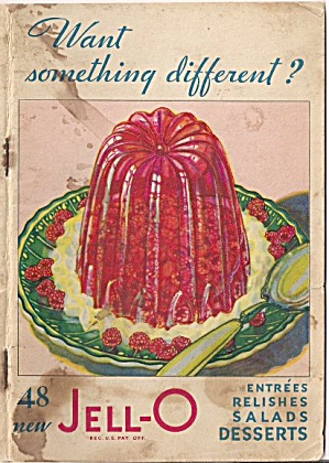 Jell-o Jello Recipe Book From Early 1931