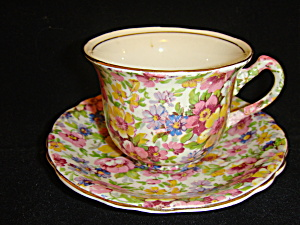Kent Du Barry Chintz teacup and saucer (Image1)