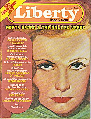 Liberty Magazine 1974 Garbo, Ziegfeld, Einstein more! (Image1)