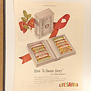 1948 Life Savers Christmas A Sweet Story Book Vintage