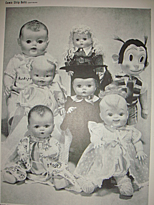Vintage Ad For Rival Dolls Including Ricky Ricardo Jr